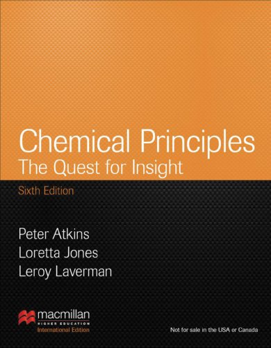 Chemical Principles: International Edition: Laverman, Leroy, Jones,