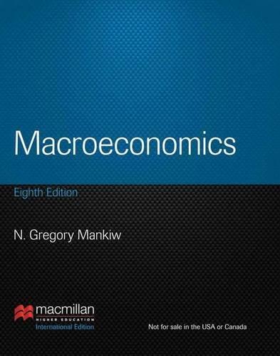 Macroeconomics [Englisch] von N. Gregory Mankiw (Autor): N. Gregory Mankiw