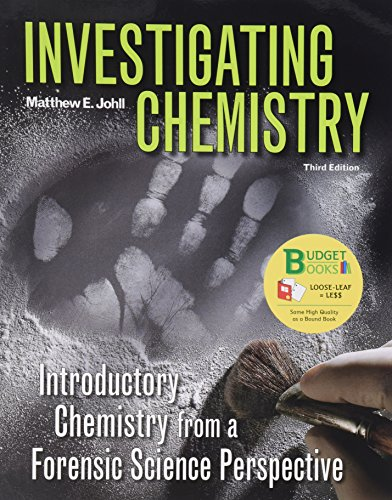 9781464124235: Investigating Chemistry (Loose Leaf) & eBook Access Card (6 Month)