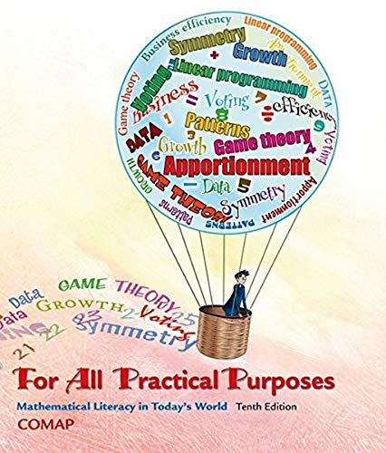 9781464124730: For All Practical Purposes: Mathematical Literacy in Today's World