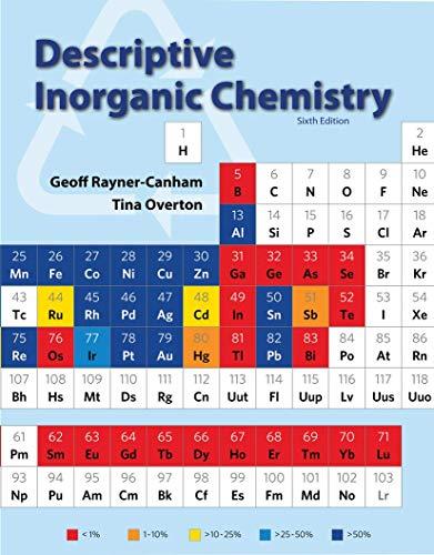 9781464125577: Descriptive Inorganic Chemistry