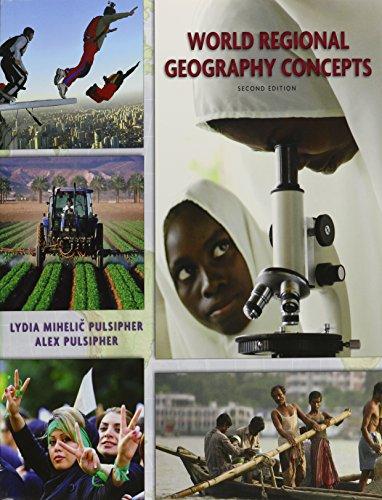 9781464125997: World Regional Geography:Concepts & Google Earth Workbook