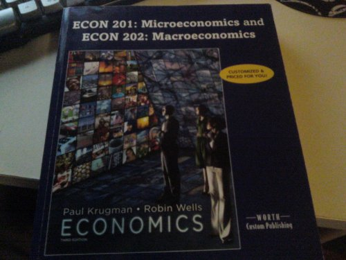 ECON 201: Microeconomics and ECON 202: Macroeconomics Portland Community College (Economics Third ...