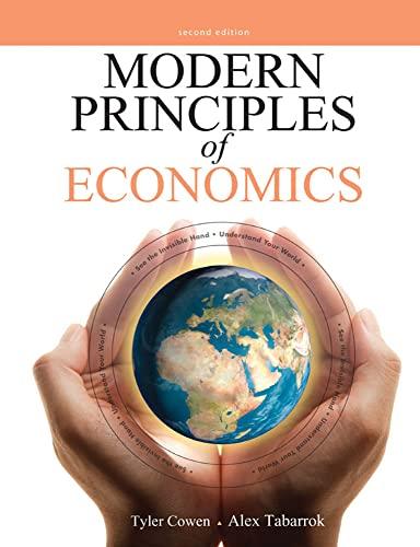 9781464128745: Modern Principles of Economics