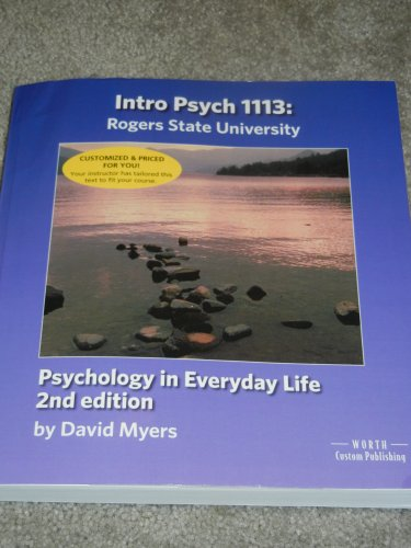 9781464131387: Psychology in Everyday Life (2nd Ed.) (RSU Edition)