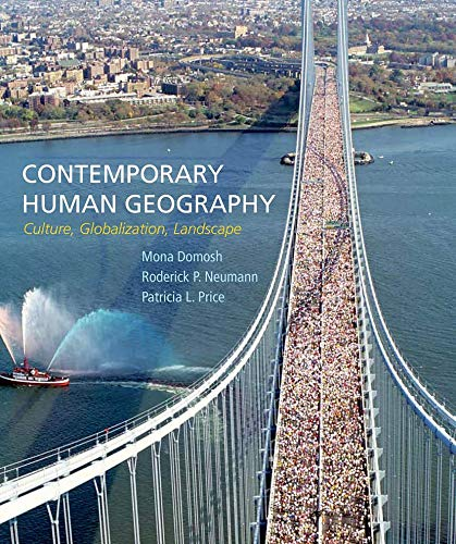 9781464133442: Contemporary Human Geography: Culture, Globalization, Landscape