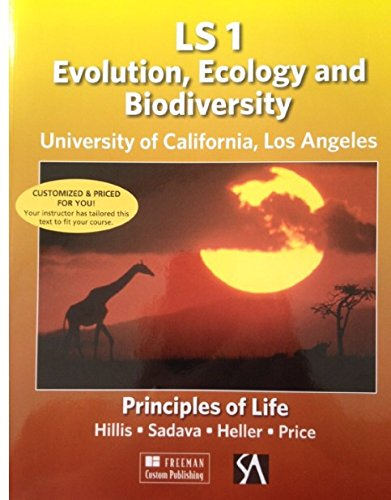 9781464137693: LS 1 Evolution, Ecology and Biodiversity University of California, Los Angeles