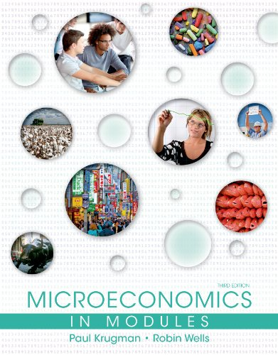 Microeconomics in Modules 9781464139048 Adaptedby Paul Krugman and Robin Wells from theirbestselling microeconomics textbook, Microeconomics in Modules is the only text for t