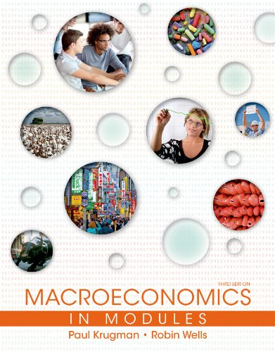 Macroeconomics in Modules 9781464139055 Adaptedby Paul Krugman and Robin Wells from their bestselling macroeconomicstextbook, Macroeconomics in Modules is the only text for t