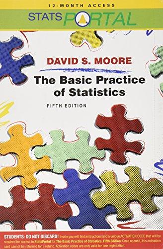 9781464139079: StatsPortal Access Card for Basic Practice of Statistics & WebAssign Standard Access Card