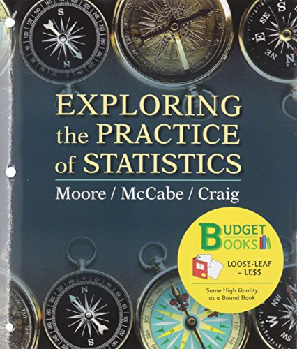 9781464140693: Exploring the Practice of Statistics (Loose Leaf), EESEE/CrunchIt, & Portal Access Card