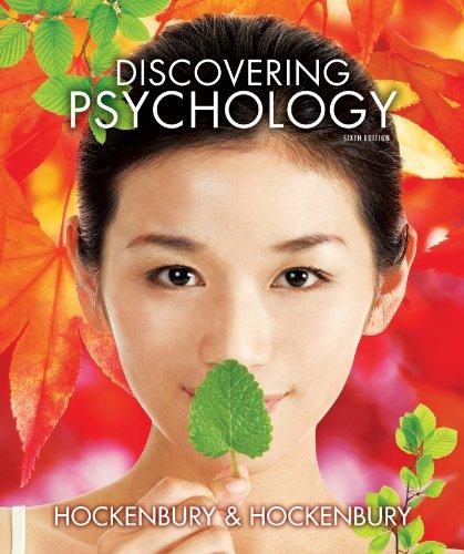 Discovering Psychology w/Three-Dimensional Brain & Study Guide: Hockenbury, Don H.;