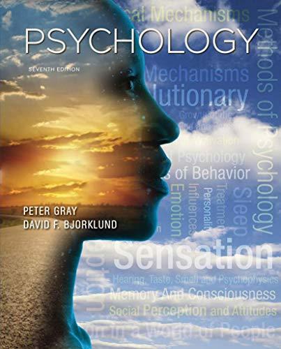 9781464141959: Psychology: 7th Edition