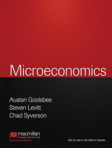 9781464146978: Microeconomics (Palgrave Version) (Internatonal Edition)