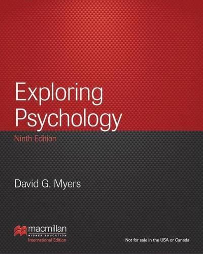 9781464147050: Exploring Psychology