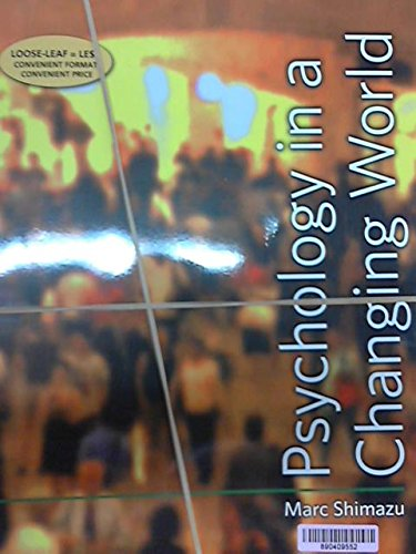9781464148606: Psychology in a Changing World