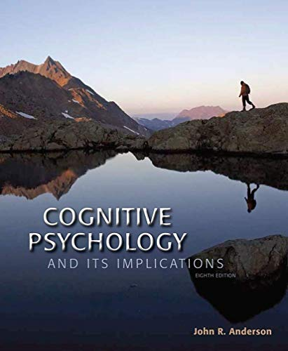 9781464148910: Cognitive Psychology and its Implications