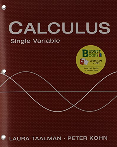 9781464151200: Loose-Leaf Version for Calculus Single Variable