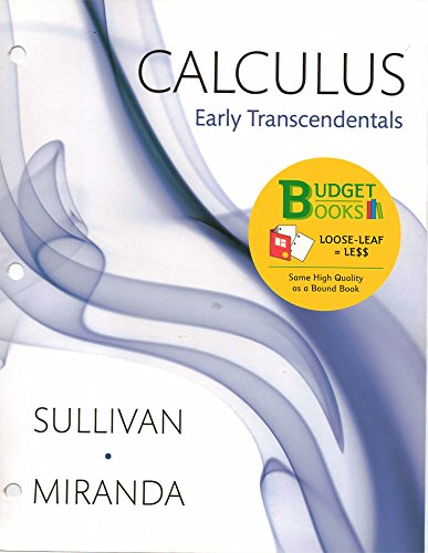 9781464152788: Loose-leaf Version for Calculus Combo: Early Transcendentals