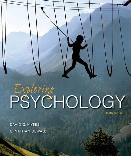 9781464154072: Exploring Psychology