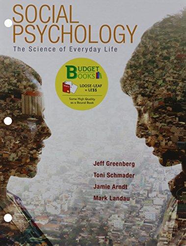 9781464155307: Loose-leaf Version for Social Psychology