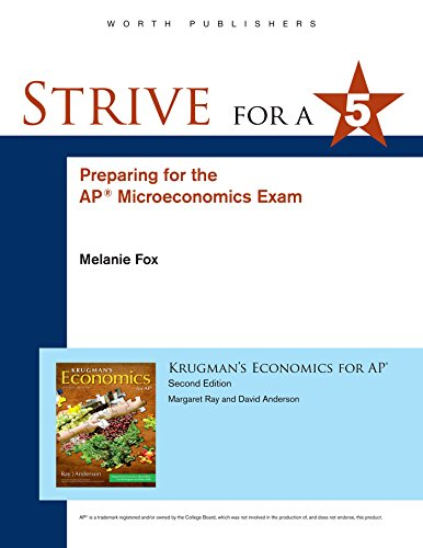 9781464155932: Strive for 5: Preparing for the AP® Microeconomics Examination
