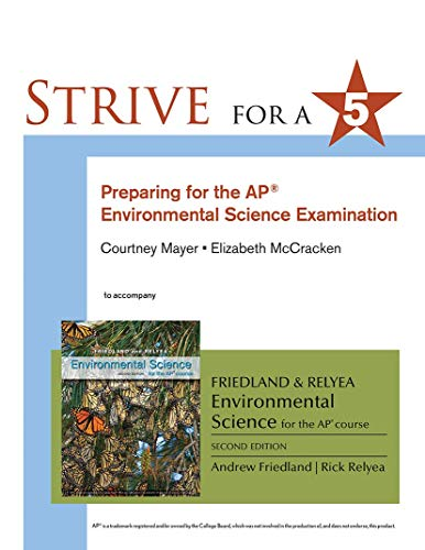 Strive for A 5: Preparing for the: Friedland, Andrew/ Relyea,