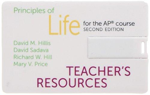 9781464156496: Principles of Life - Teacher Resource