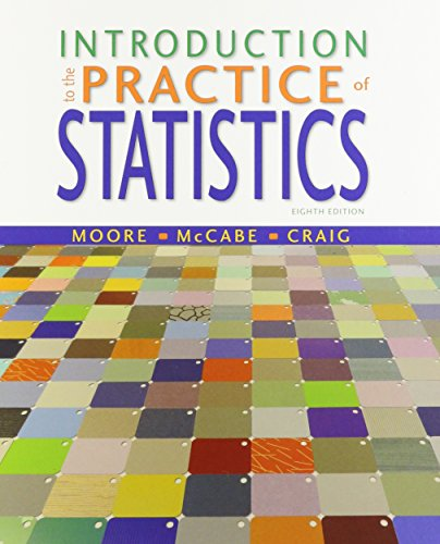 9781464158940: Introduction to the Practice of Statistics, CrunchIt/EESEE Access Card, & LaunchPad 12 Month Access Card