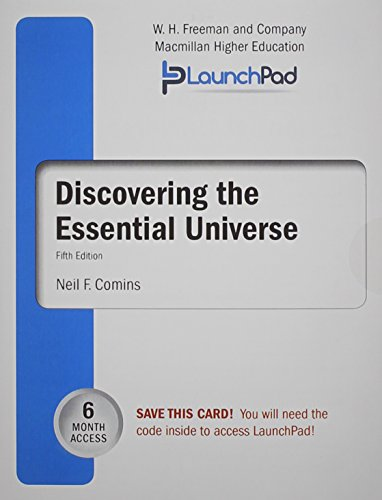9781464162657: LaunchPad for Comins' Discovering the Essential Universe (Six Month Access)