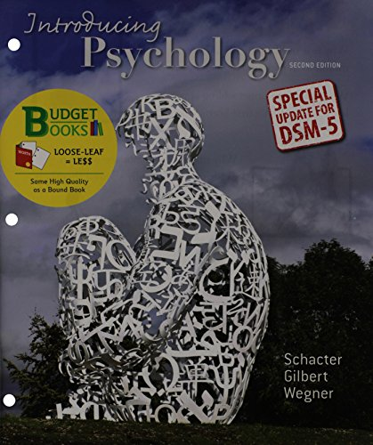 9781464163517: Loose-leaf Version for Introducing Psychology with DSM5 Update (Budget Books)