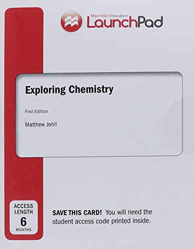 9781464165290: LaunchPad for Johll's Exploring Chemistry (6 month access)
