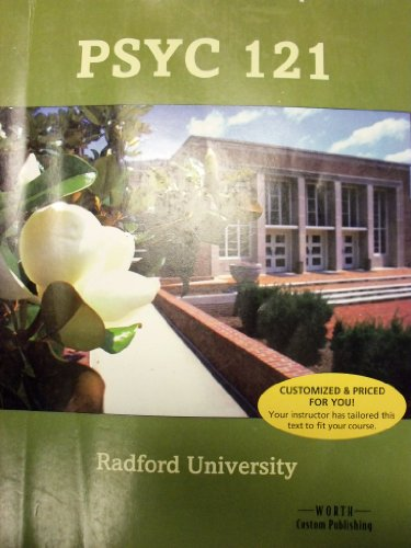 9781464165900: Exploring Psychology, 9th Edition (Radford University | PSYC 121)