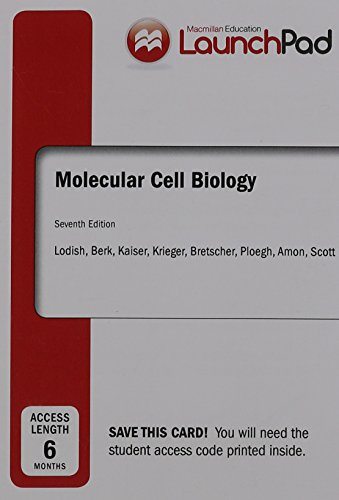 9781464167225: LaunchPad for Lodish's Molecular Cell Biology (Six Month Access)