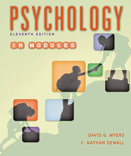 9781464167522: Psychology in Modules