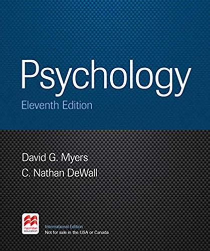 9781464170324: Psychology 11e Pi