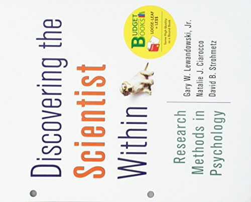 9781464178078: Loose-leaf Version for Discovering the Scientist Within