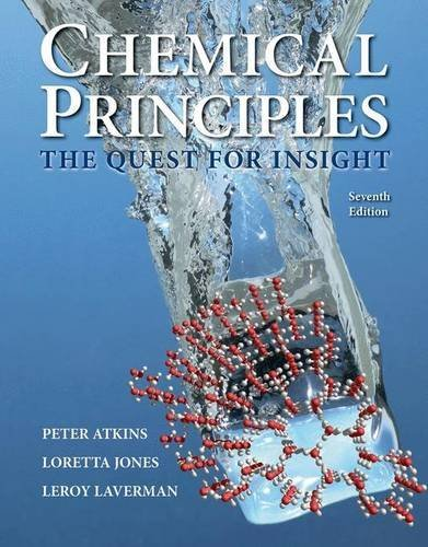 9781464183959: Chemical Principles: The Quest for Insight