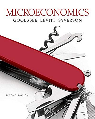 Microeconomics 2nd Edition Instructor Edition: Austan Goolsbee; Steven