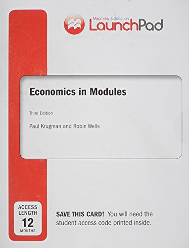 9781464187247: LaunchPad for Krugman's Economics in Modules (Twelve Month Access)