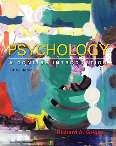 9781464192166: Psychology: A Concise Introduction