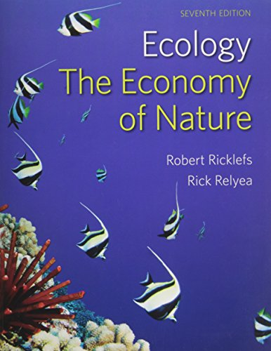 Economy of Nature & LaunchPad 6 Month Access Card: Robert E. Ricklefs