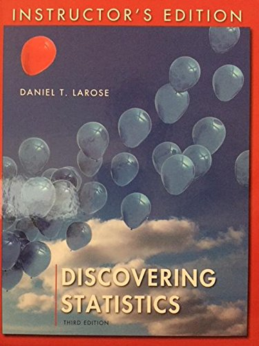 Discovering Statistics: Instructor's Edition: Daniel T. Larose