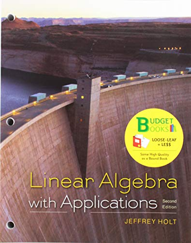 9781464193699: Loose-leaf Version for Linear Algebra with Applications