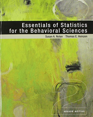 9781464193965: Essentials of Statistics for the Behavioral Sciences & LaunchPad 6 month access card