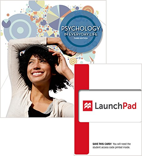 9781464194467: Bundle: Psychology in Everyday Life & LaunchPad (Six Month Access)