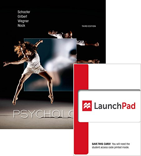 9781464194511: Loose-Leaf Version for Psychology & Launchpad 6 Month Access Card