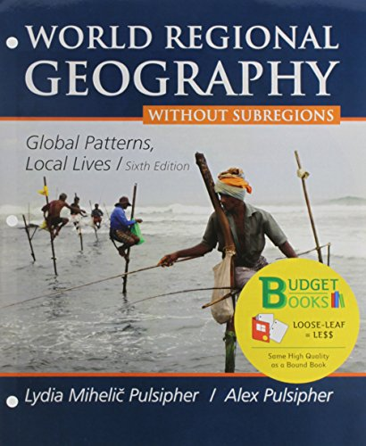 9781464194757: Loose-leaf Version for World Regional Geography without Subregions & LaunchPad 6 month access card