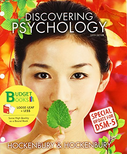 9781464198502: Loose-leaf Version for Discovering Psychology with DSM5 Update & LaunchPad 6 month access card