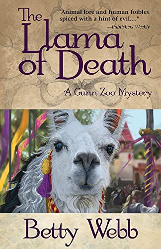 9781464200687: The Llama of Death: A Gunn Zoo Mystery (Gunn Zoo Series)